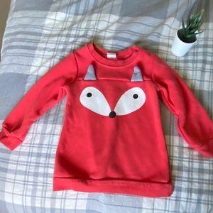 Toddler Fox 🦊 Sweatshirt